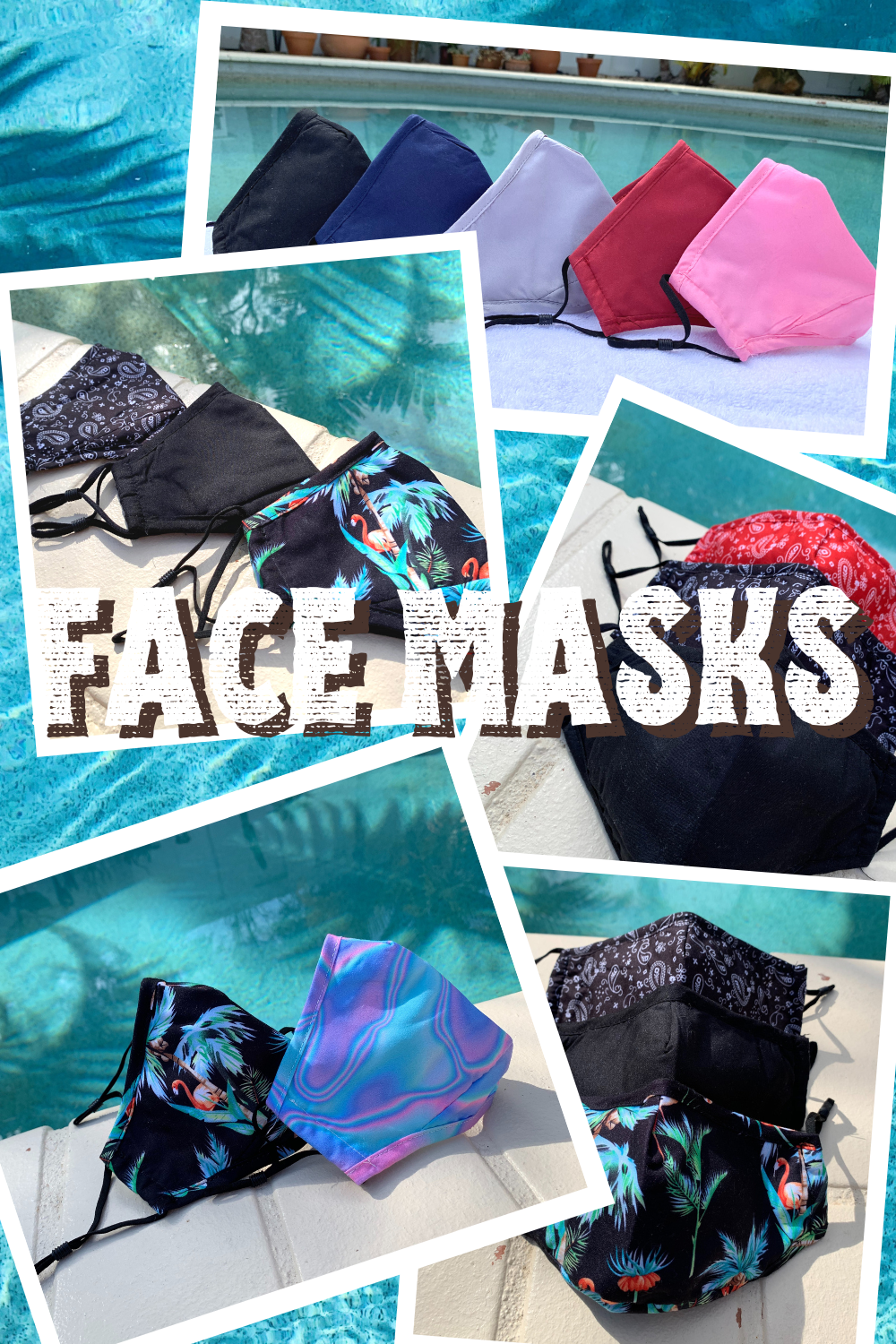 Washable and Reusable Cotton Face Masks in 2020 Face
