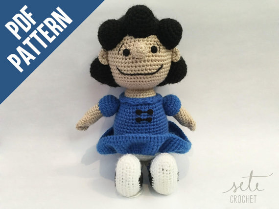 Amigurumi Freely Fb : Amigurumi crochet pattern lucy van pelt [peanuts] lucy van pelt