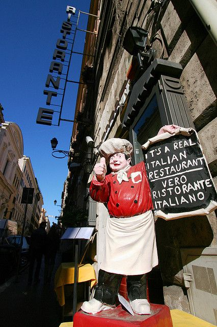 It's a Real Italian Restaurant - Rome