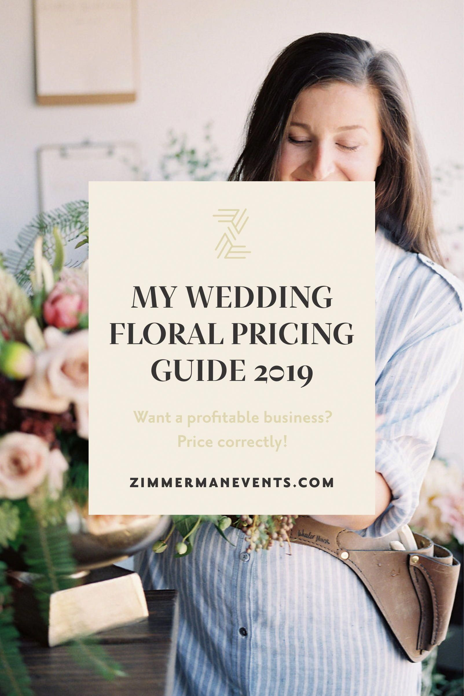 Pricing For Profit My Wedding Floral Pricing Guide