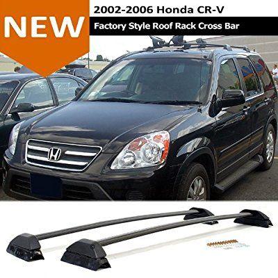 2002 2006 Honda Crv Black Roof Rack Cross Bars Sport Utility Luggage Carrier 2002 2003 2004 2005 2006