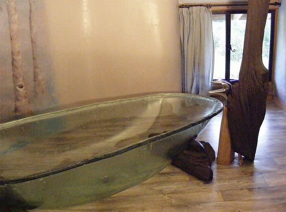 Glass Bathtub hand made glass bath | homes | pinterest | bath, glass and kitchens