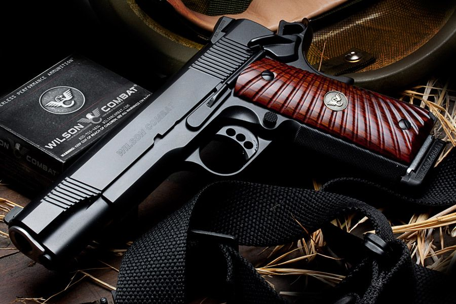 WILSON COMBAT CQB , one of the finest custom 1911 available.