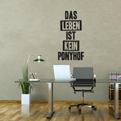 Wandtattoo Ponyhof Spruche Zitate Wandtattoos Klebefolienshop Wandtattoo Spruche Wandtattoos Wandtattoo