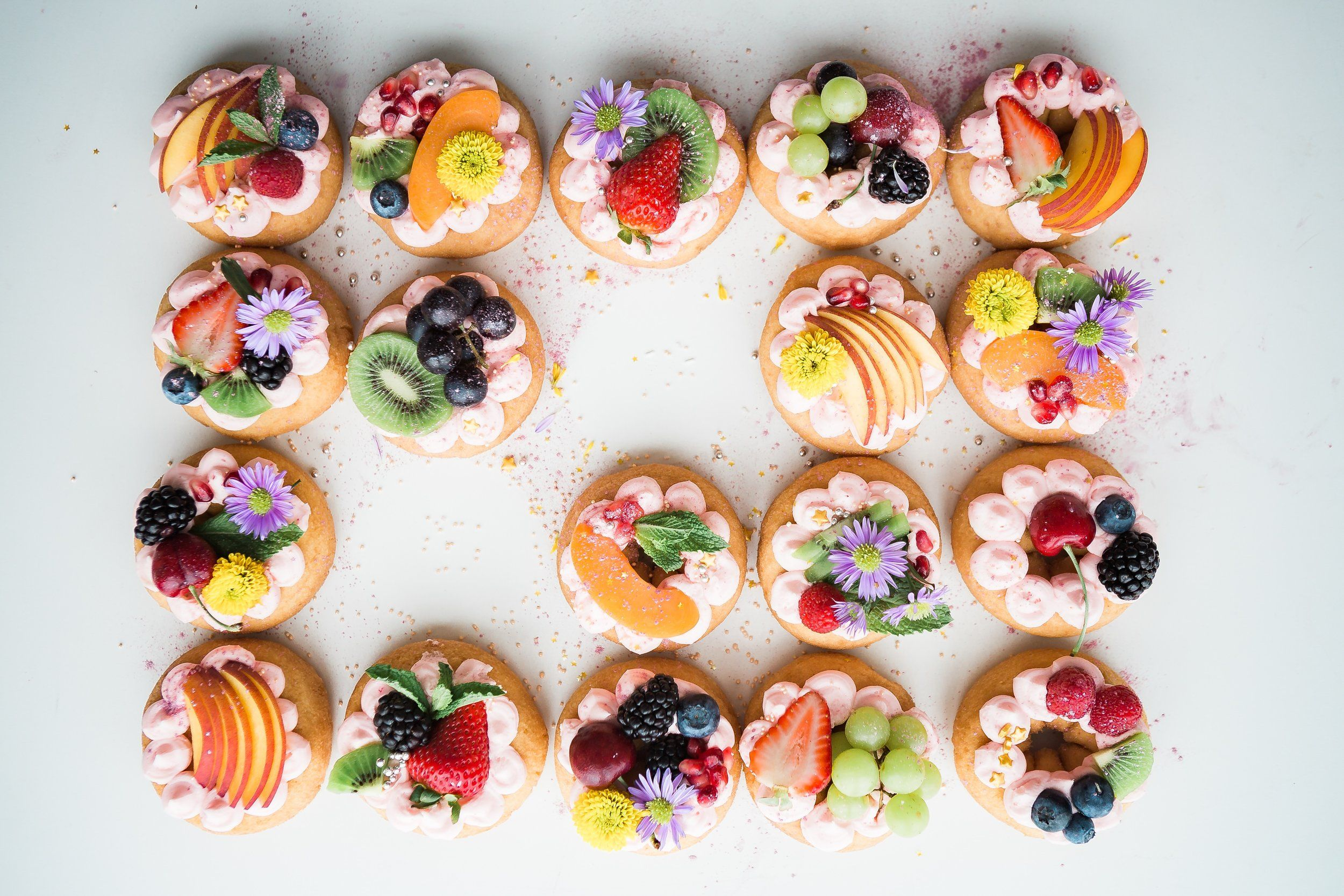 Eireneday Colorful Desserts Food Desserts