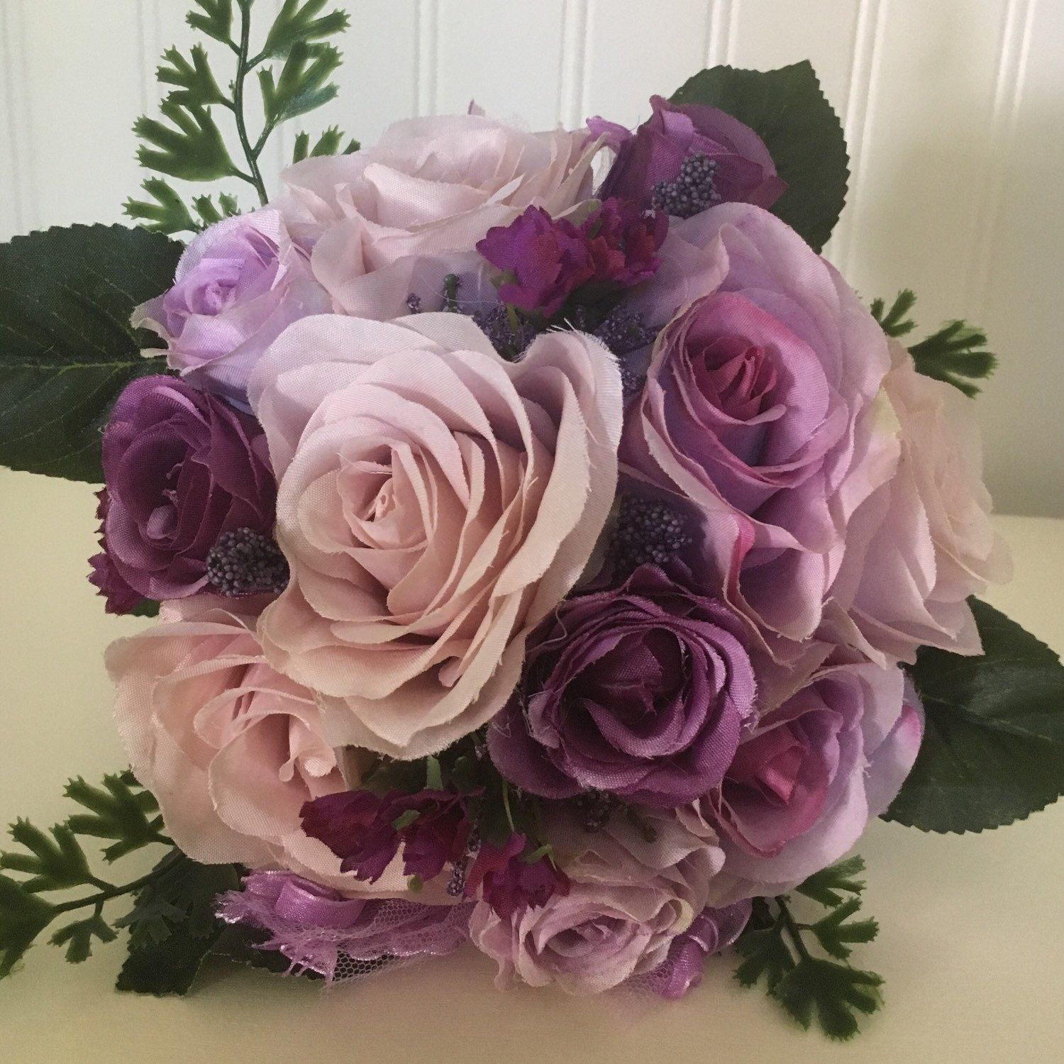 Beautiful Rose Bouquet Without The Hassle Of Changing Water Or