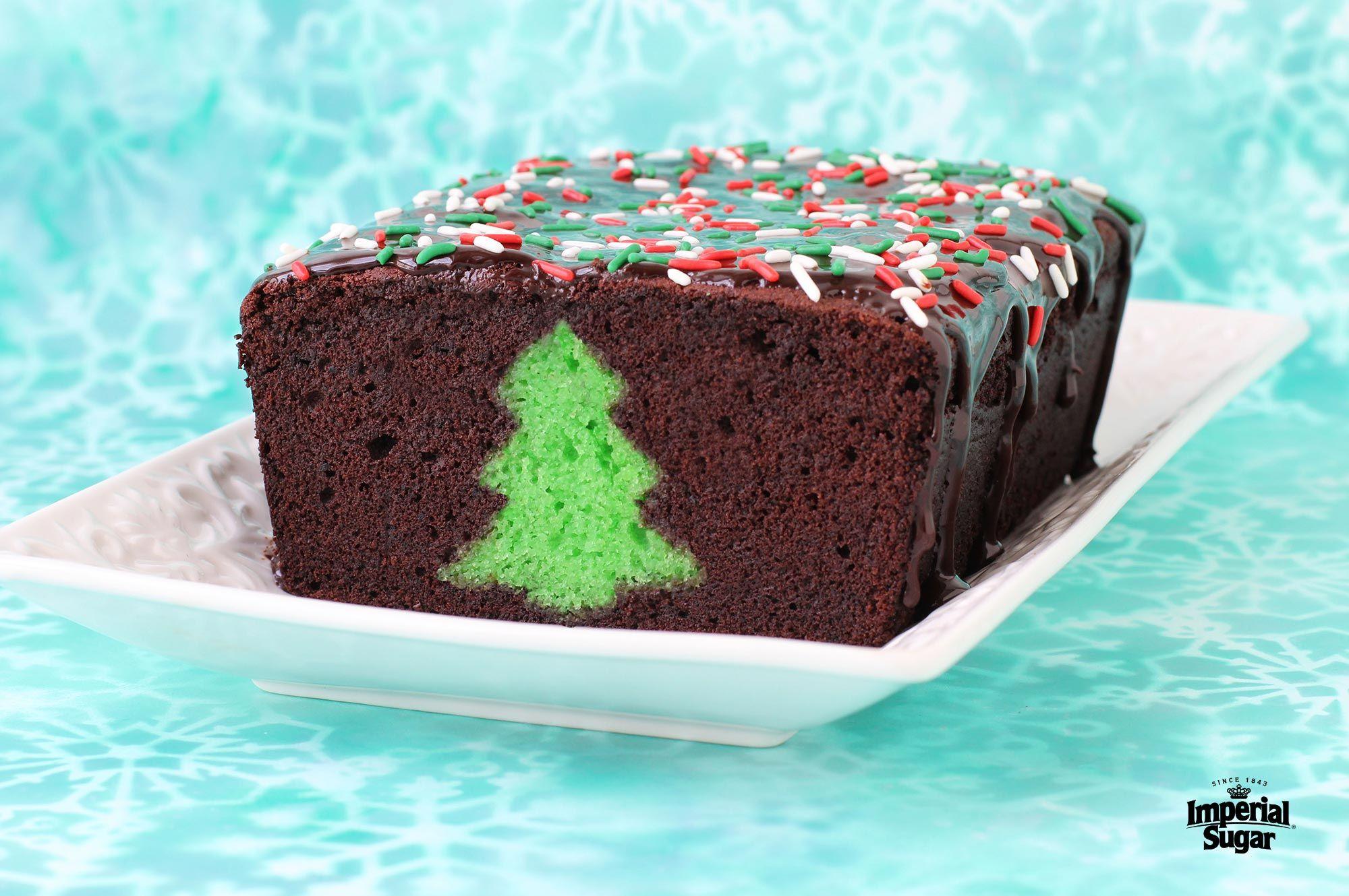 Chocolate mint christmas peekaboo cake mint chocolate