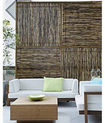Apartamento de 378 m² ganha acabamentos caprichados Bambú - decoracion con bambu