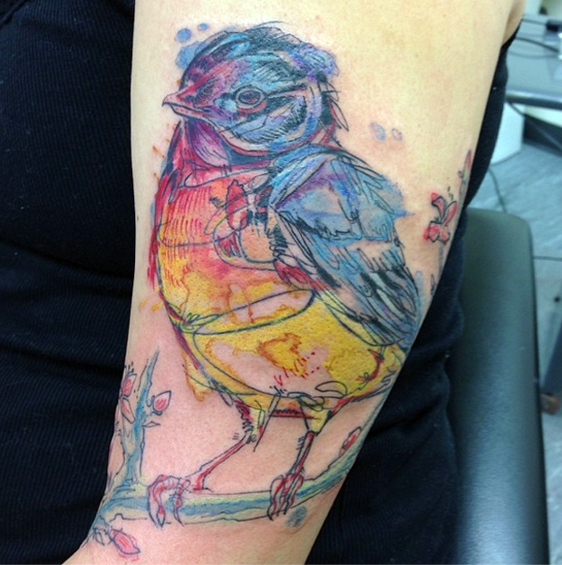 follow the colours ivy gowen tattoo friday 01 #tattoofriday   Ivy Gowen