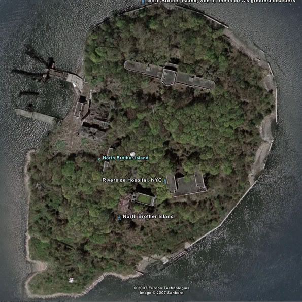Scary Places In Riverside Ca: Riverside Hospital (North Brother Island)