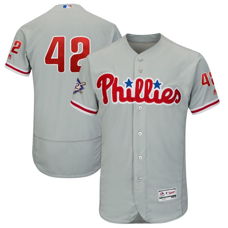 buy online c5218 c54ff Philadelphia Phillies Majestic 2018 Jackie Robinson Day ...