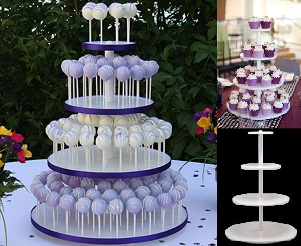 How To Display Cake Pop Stand For Wedding Cakes