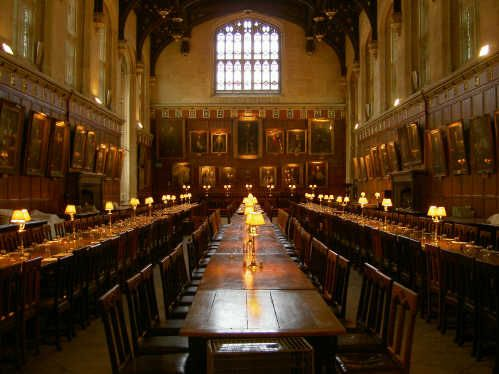 Christ Church College University Of Oxford Grand Dining Hall