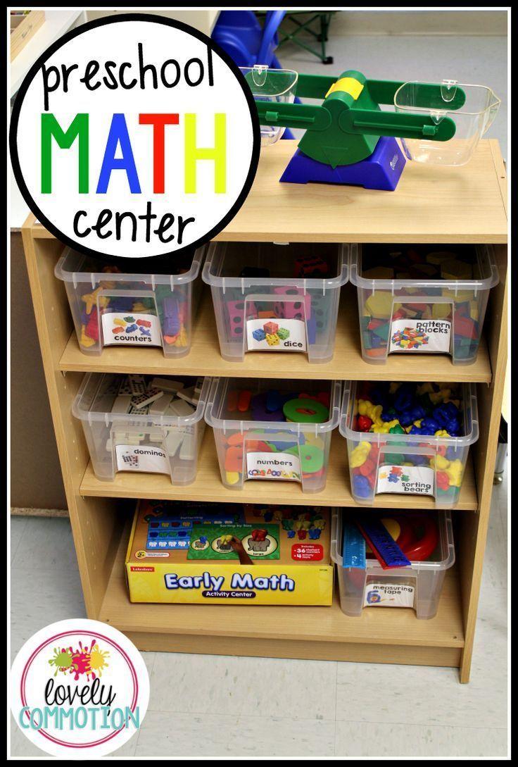 Preschool Math Center — Lovely Commotion Preschool