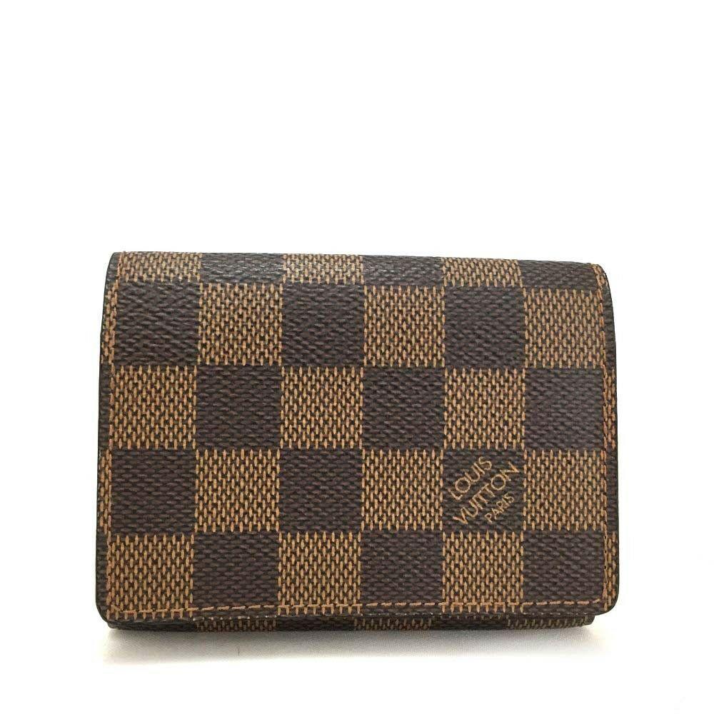 100 Authentic Louis Vuitton Damier Enveloppe Cartes De Visite
