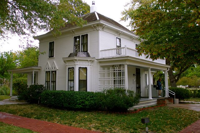 Eisenhower Home Kansas Usa Kansas State Of Kansas