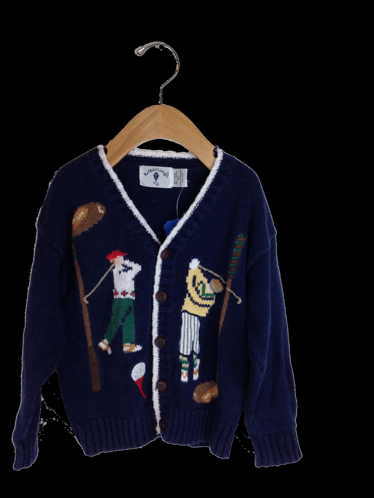 Sweater by Kitestrings by Hartstrings - Size 4T  d4be6edbf