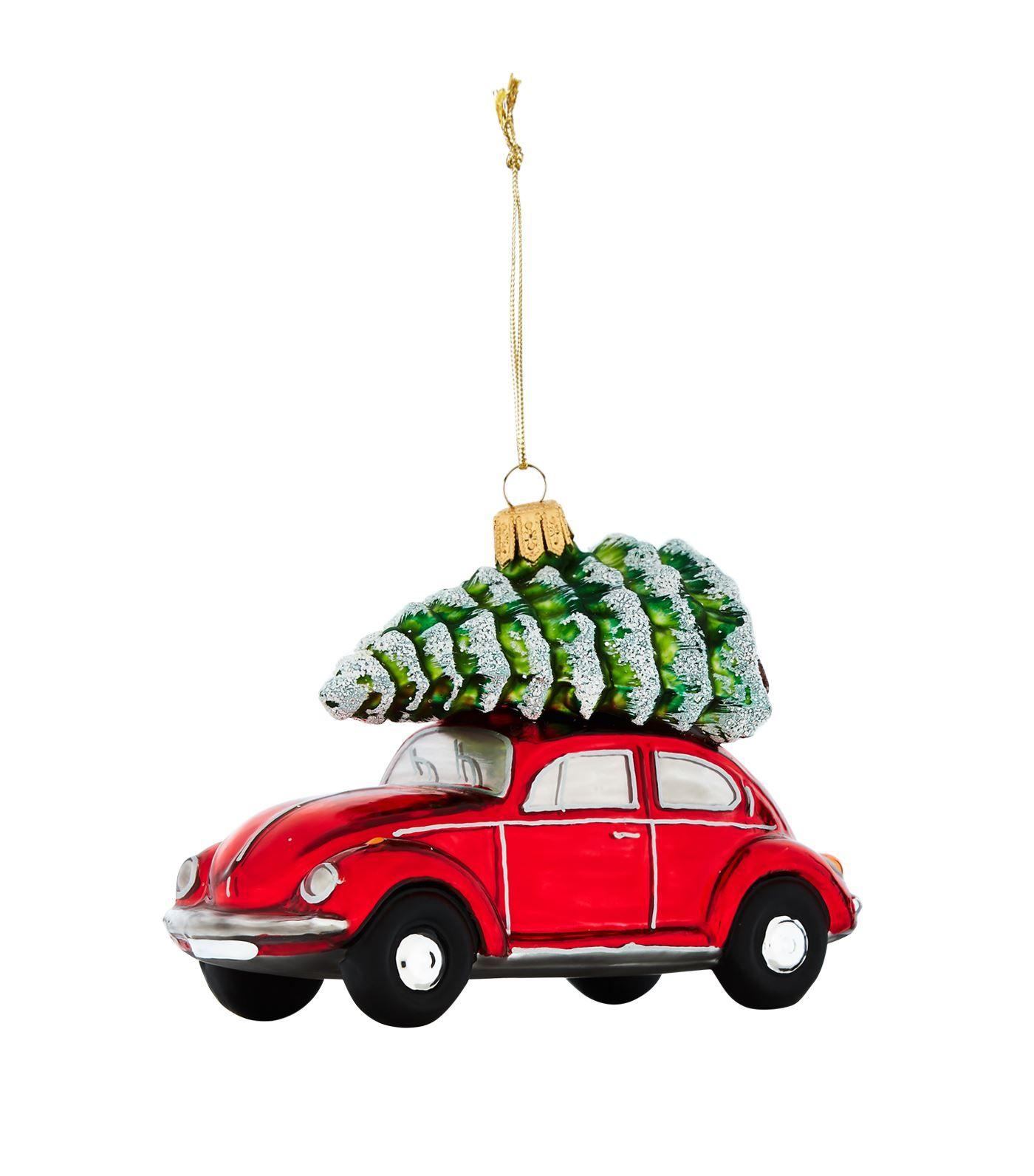 Harrods Vw Beetle With Tree Bauble Decor