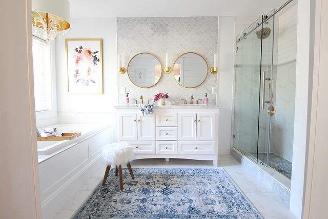 Tile And Decor Near Me Prescott View Home Reno Master Bathroom Reveal Classy Clutter