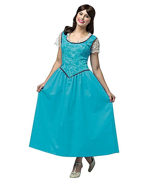 Once Upon A Time Costumes: Once Upon A Time Belle Womens Costume