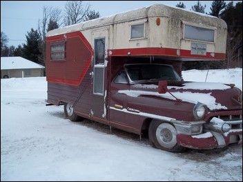 1953 Cadillac Motor Home