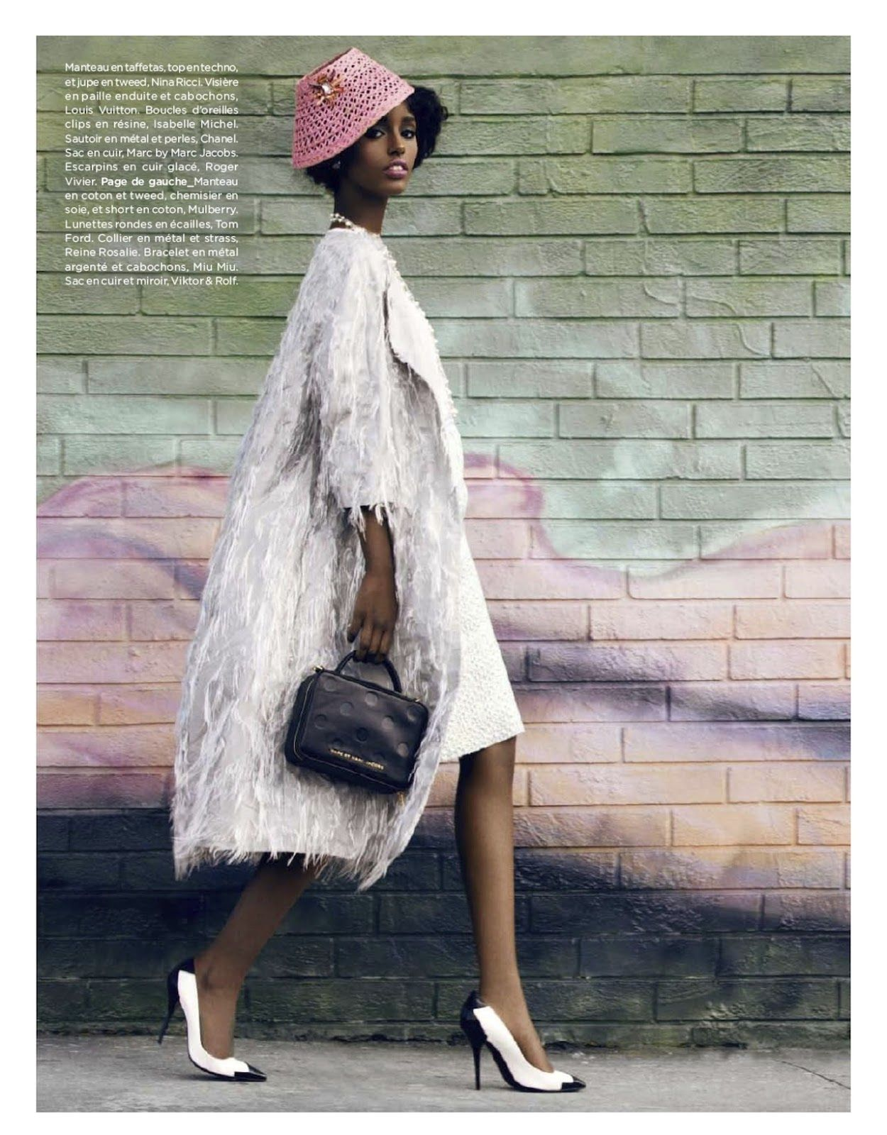 pastel paradise: senait gidey by lucian bor for be #132 march 2013 | visual optimism; fashion editorials, shows, campaigns & more!