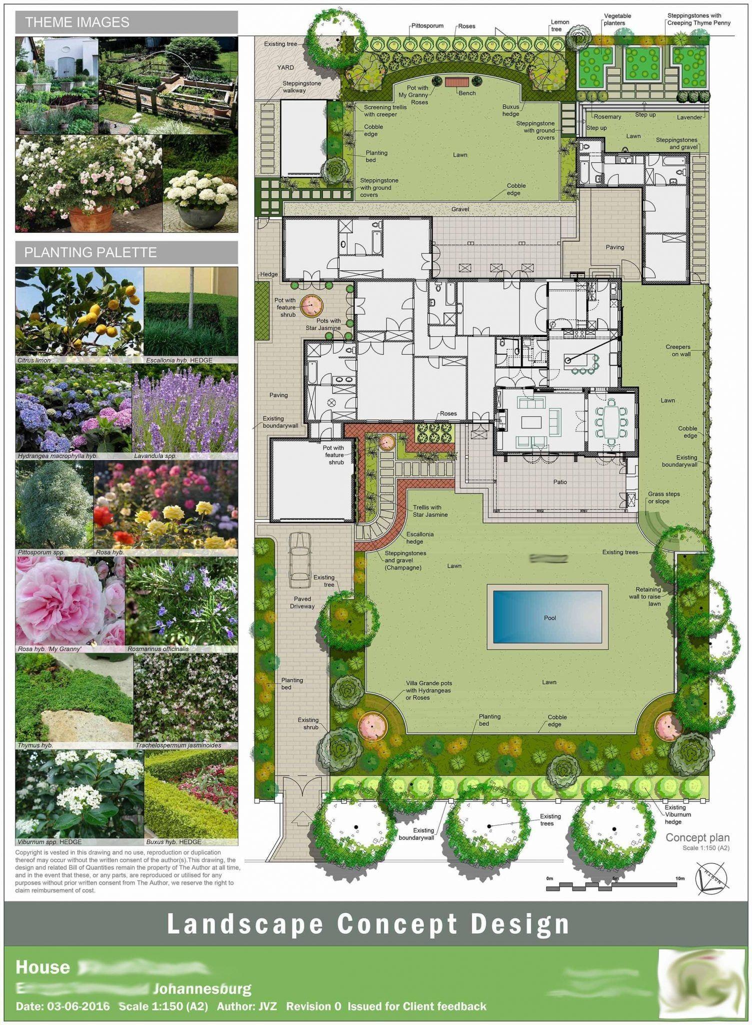 Garden Layout Design Qatar Di 2020 Desain Taman Kecil Tata Letak Taman Desain Taman