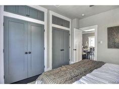 closet doors and storage above! in 2019 | Bedroom closet ...