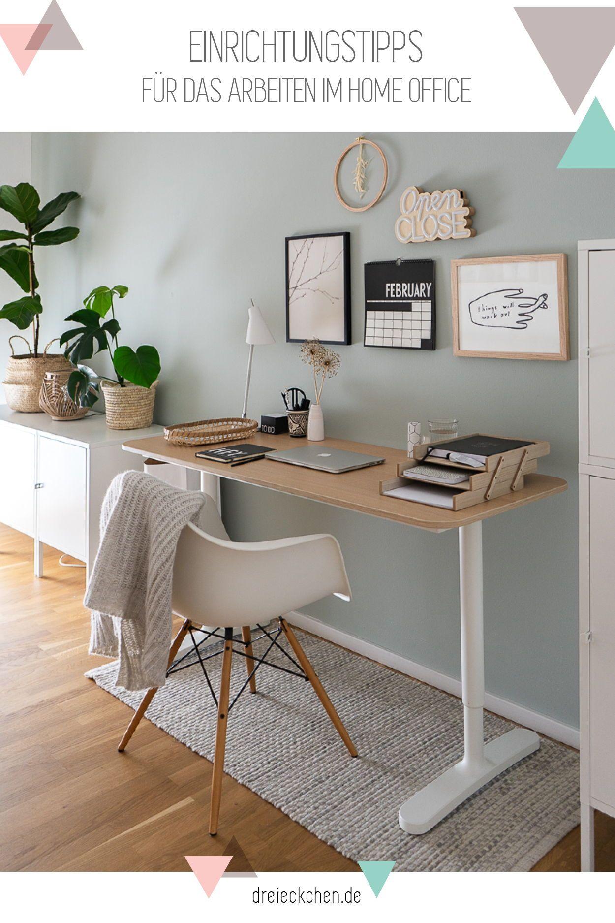 Arbeitszimmer Einrichten Ideen Für Das Büro Zuhause Blog Dreieckchen Wohnung Einrichten Ideen Arbeitszimmer Einrichten Zimmer Einrichten Jugendzimmer