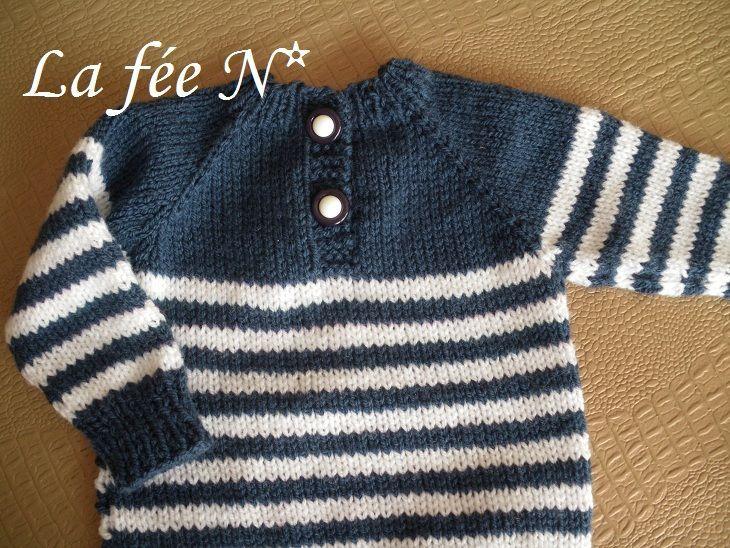 Préférence modèle tricot pull marin bébé | bebe | Pinterest | Tricot pull  MA99