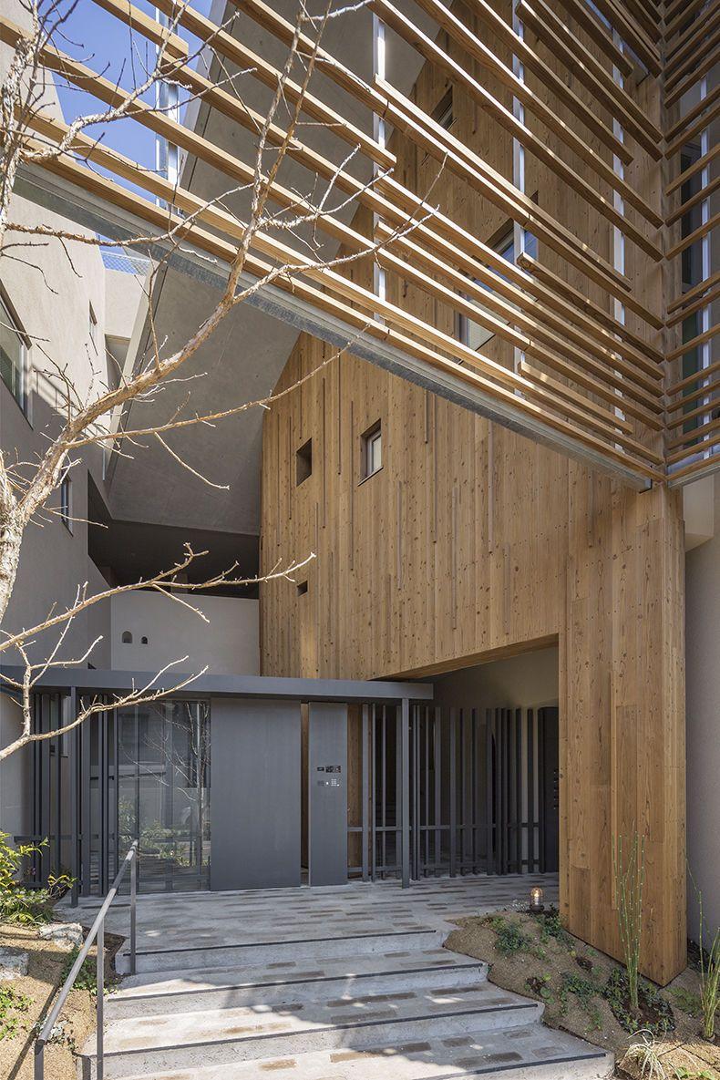 A Blanc 2020 ルーバー マンション 建築物