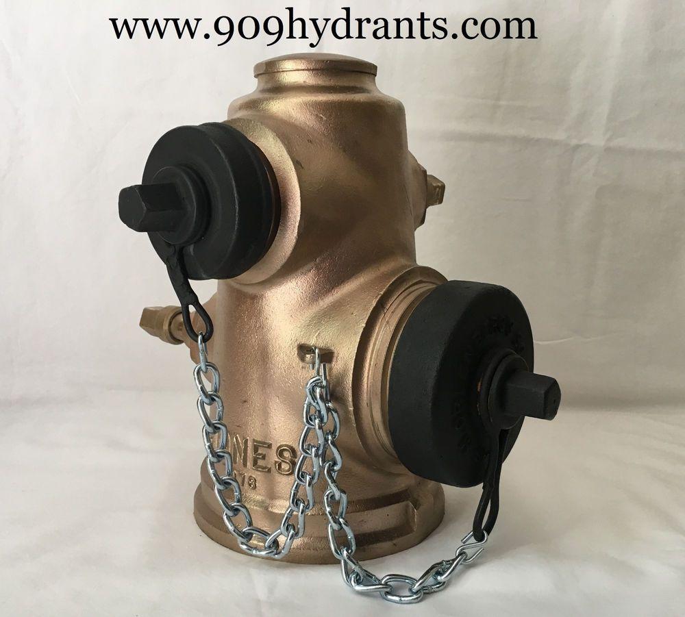 Vintage 1978 Brass Jones Fire Hydrant Fire Hydrant Hydrant Vintage