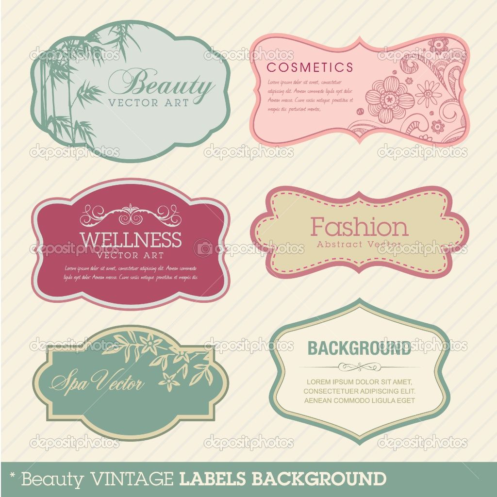 """Using this for label and sign templates. (i.e. """"All the fixins"""" or """"corn on the cob"""")"""