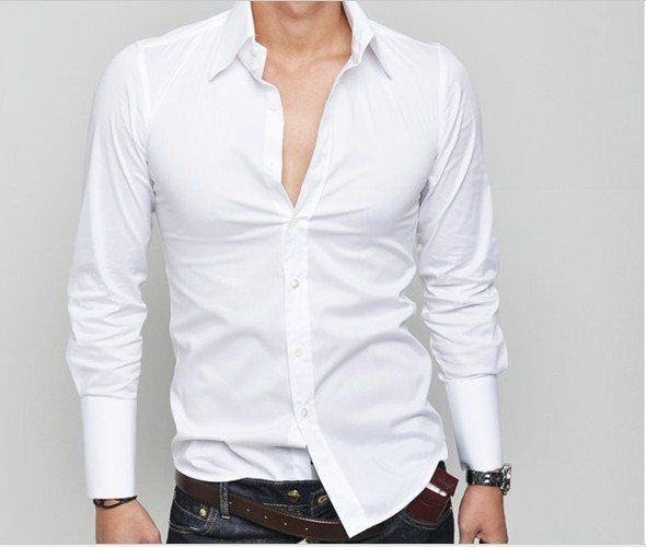 white-shirts-men-s-fashion-bright-colored-casual-shirts-free ...