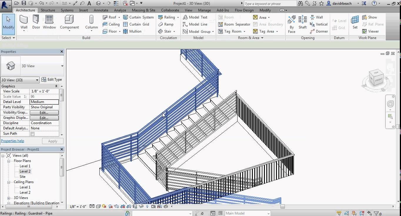 Best Revit Stairs Learn Revit Revit Architecture Autodesk Revit 400 x 300