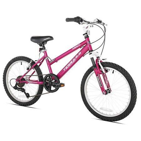 Kent Terra 2 0 20 Girls Mountain Bike 7 Speed Hot Pink