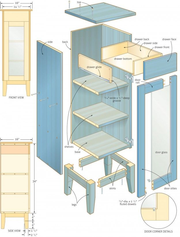 Pin by dustin kelley on cool in 2019 woodworking plans - Bathroom vanity plans woodworking ...