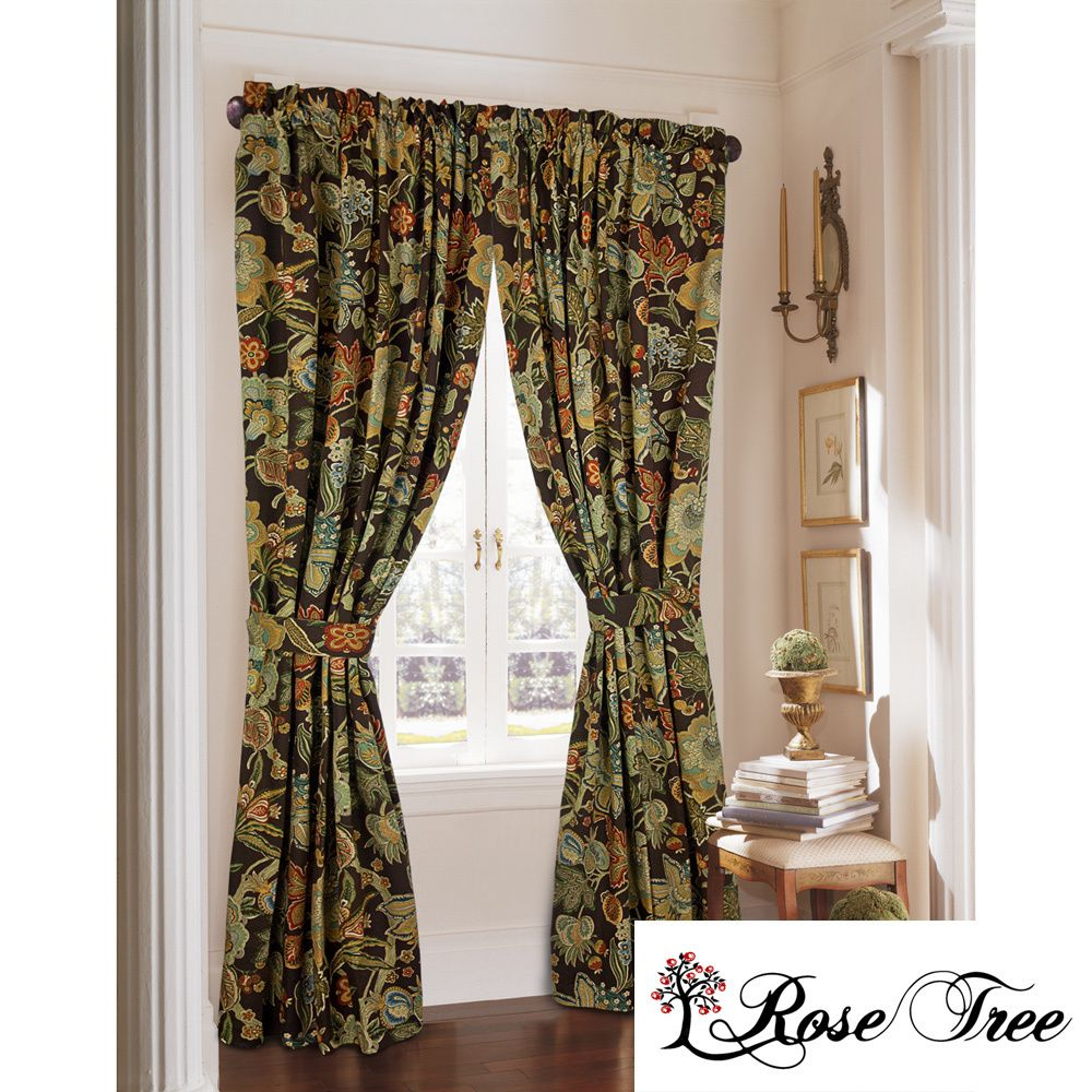 free product pair prima on curtain panel drapes garden home shipping overstock taupe ivory lush decor