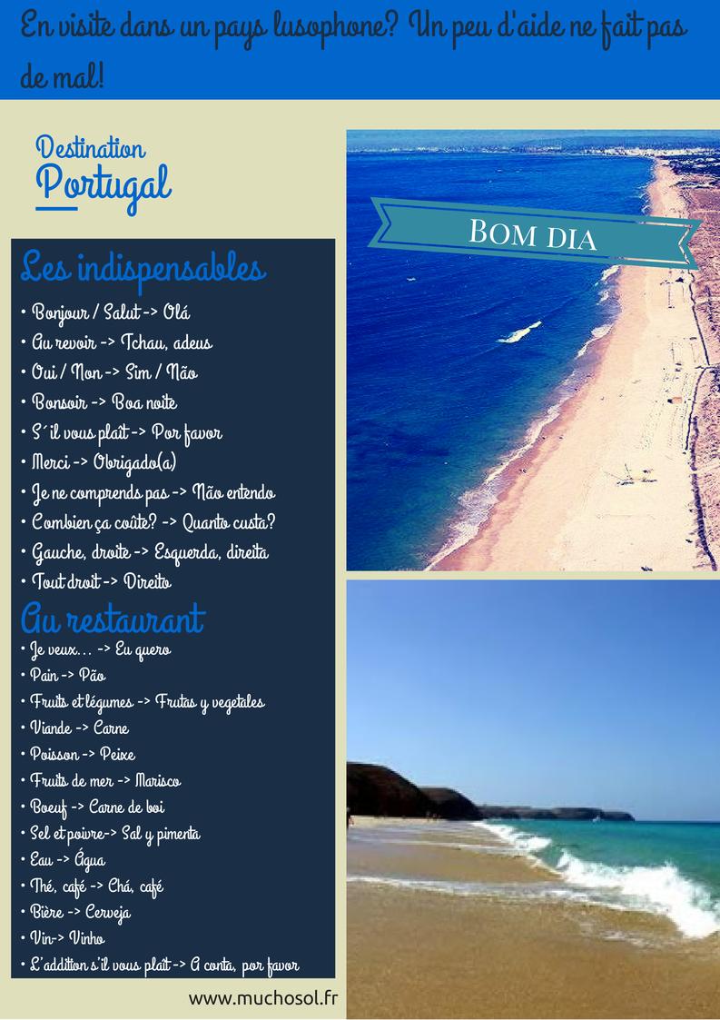 phrase en  portugais