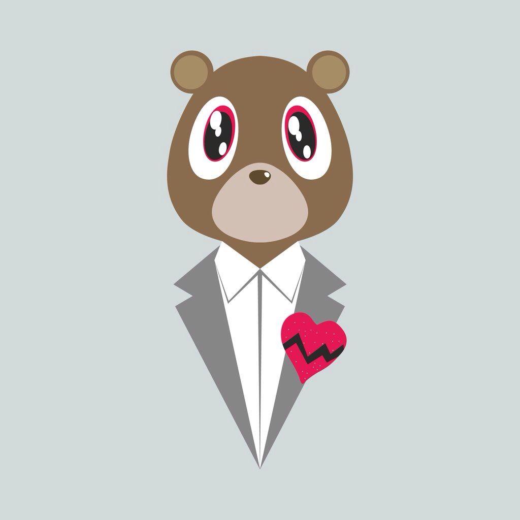 Kanye Bear Kanye West Wallpaper Kanye West Tattoo Kanye West Graduation Bear