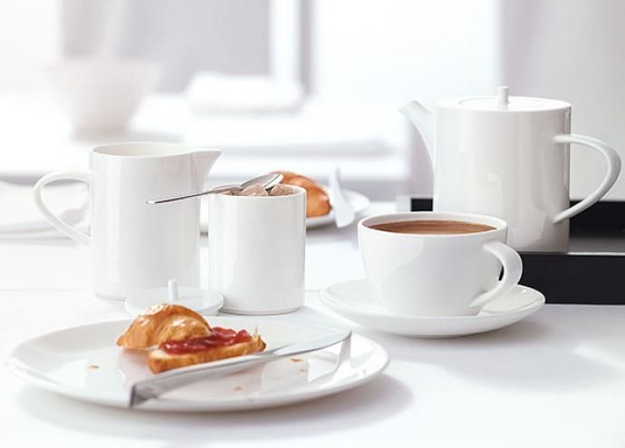 petit d jeuner tasse th caf collection a table porcelaine fine bone china asa selection. Black Bedroom Furniture Sets. Home Design Ideas