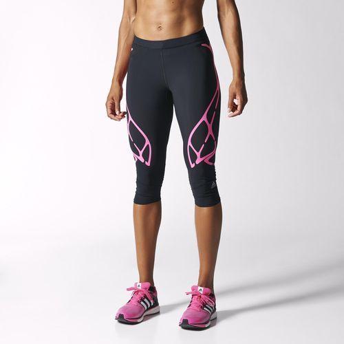 Calzas Capri de Running adizero SprintWeb Mujer adidas  b0a9914d1f732