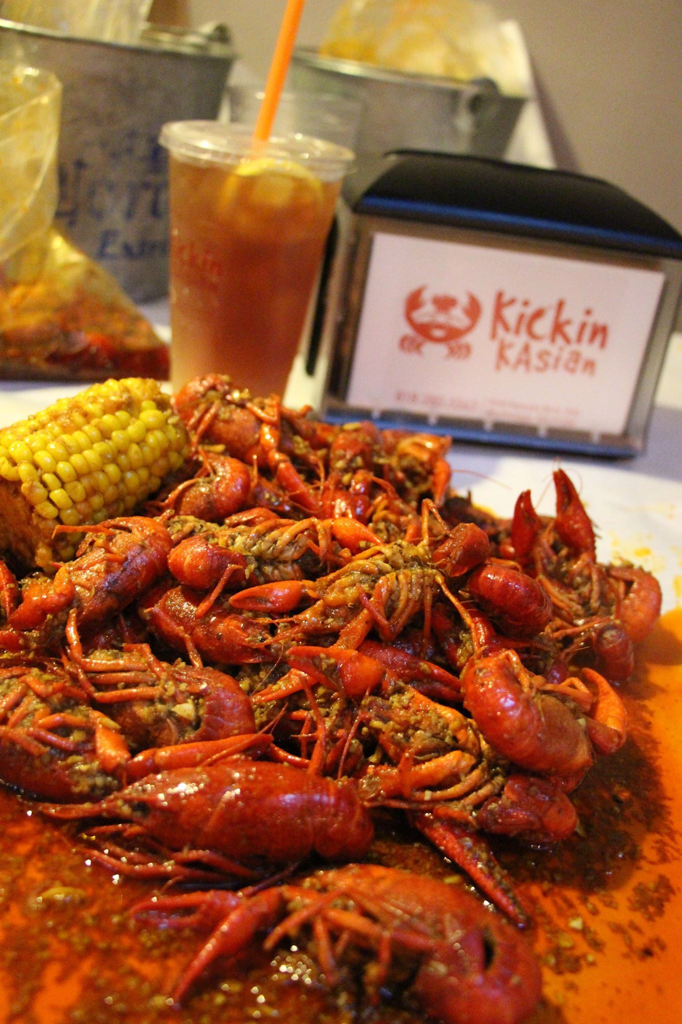 Northridge Ca Review Of Kickin Kasian Northridge Cooking Network Seafood
