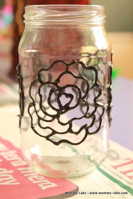Ways To Decorate Glass Jars Hand Painted Glass Bottles And Jars Different Ways To Paint