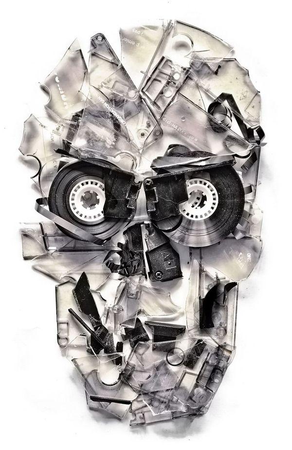 Skulls With A Twist On Digital Art Served Skull Skull Art Skull Design