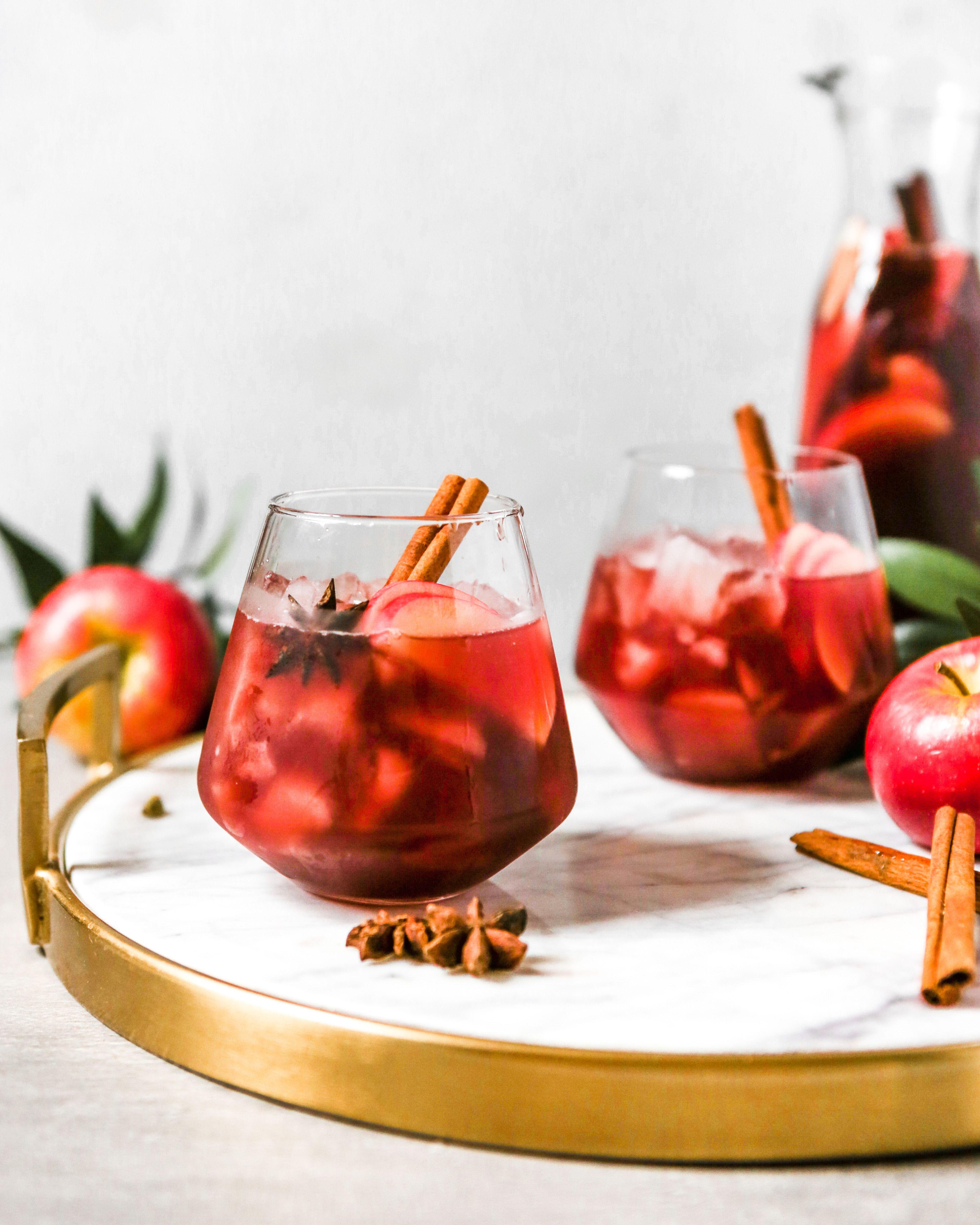 Autumn Red Wine Apple Cider Sangria Zestful Kitchen Recipe Cider Sangria Apple Cider Sangria Apple Cider Recipe