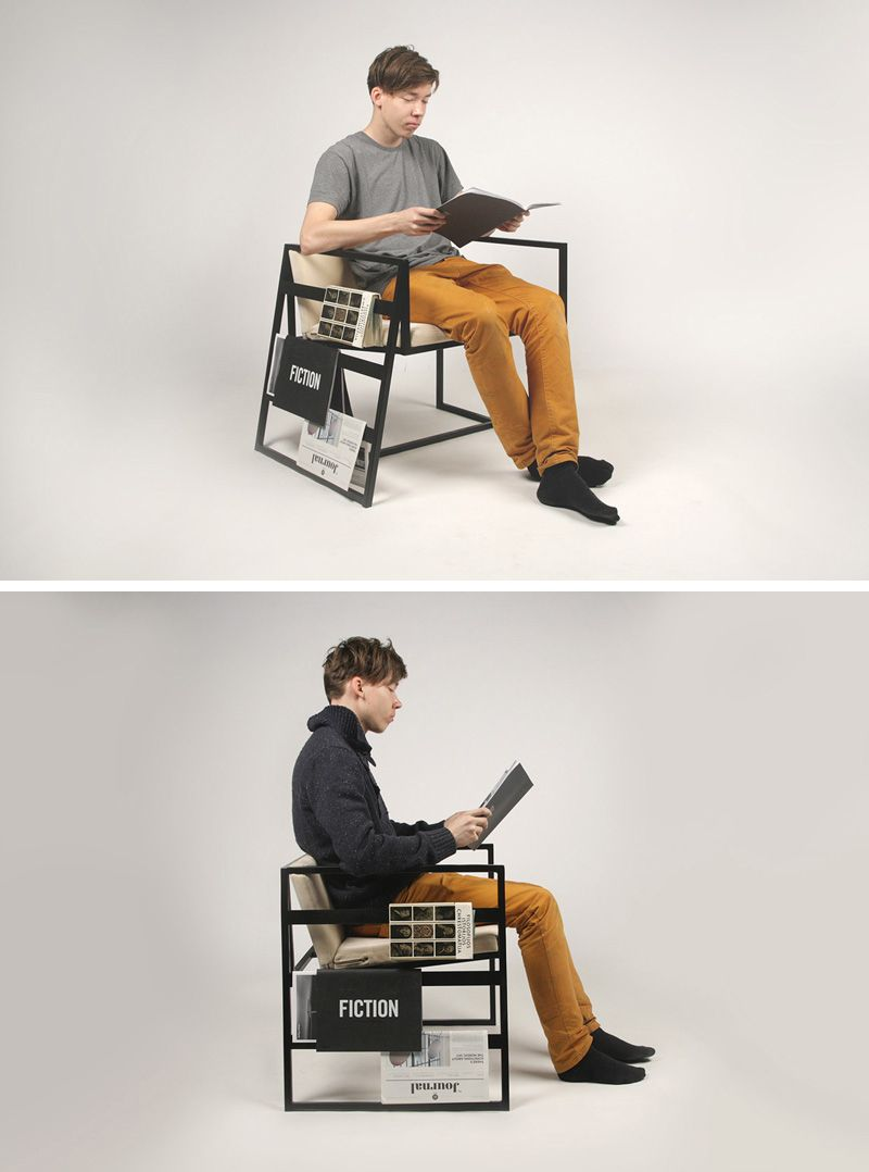 10 Chairs All Book Lovers Will Appreciate // This chair was