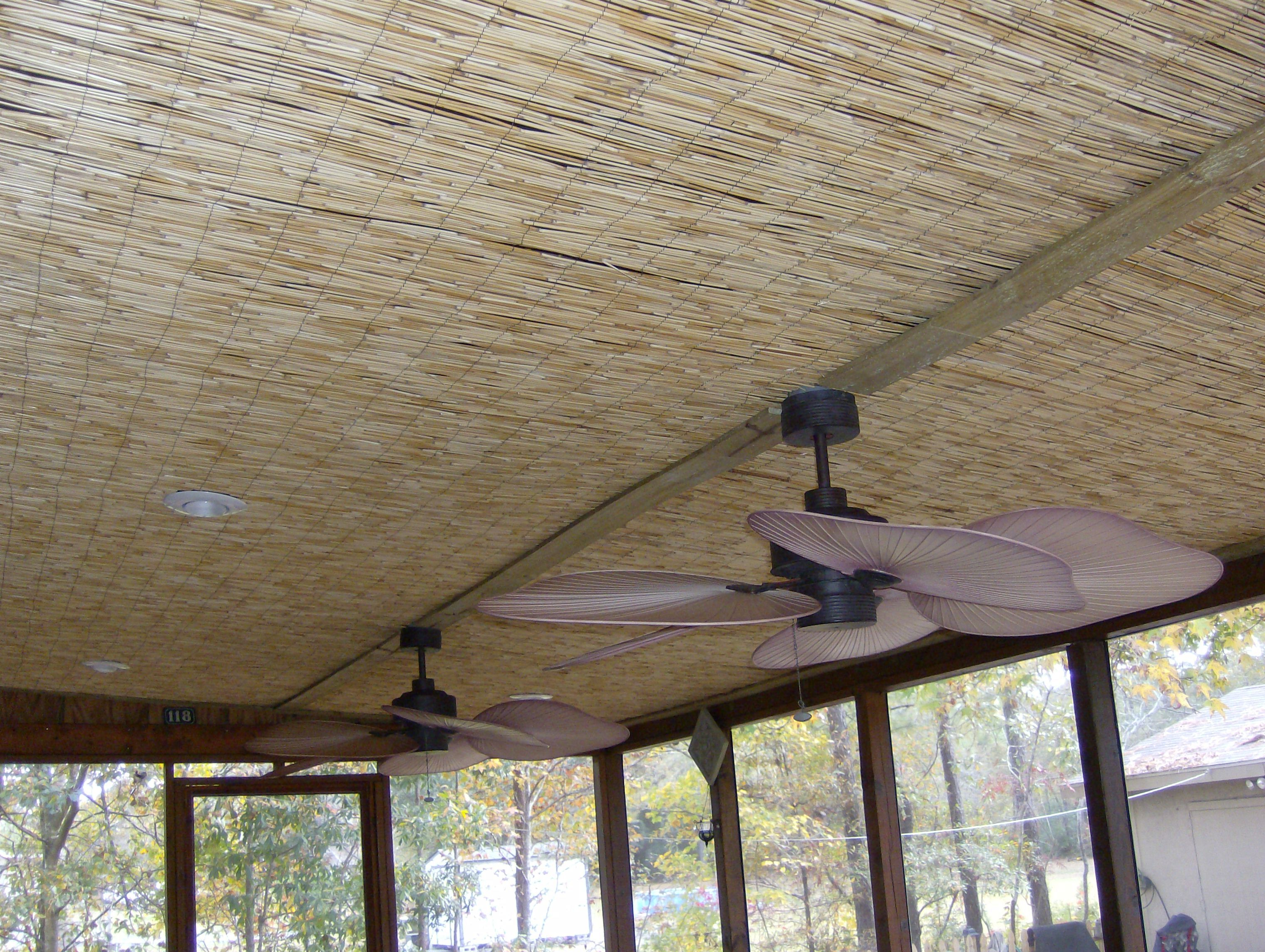 ceiling ideas workshop ideas porch ideas reed fencing basement ideas