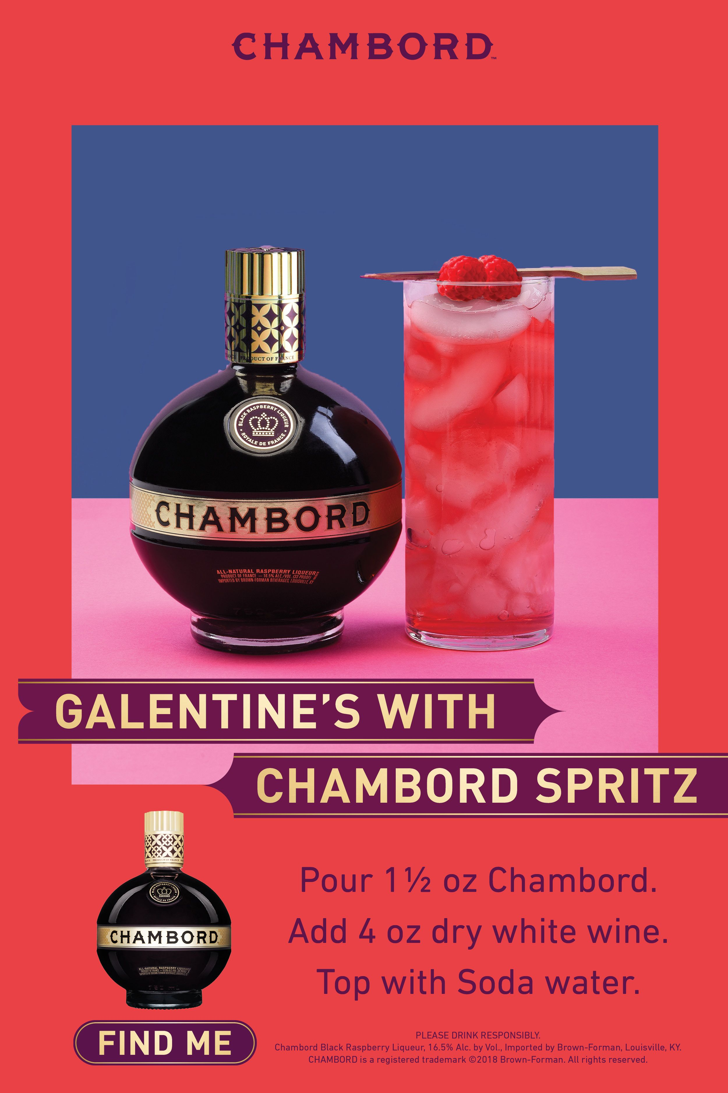 Chambord Spritz Drinks Alcohol Recipes Fun Drinks Bar Drinks