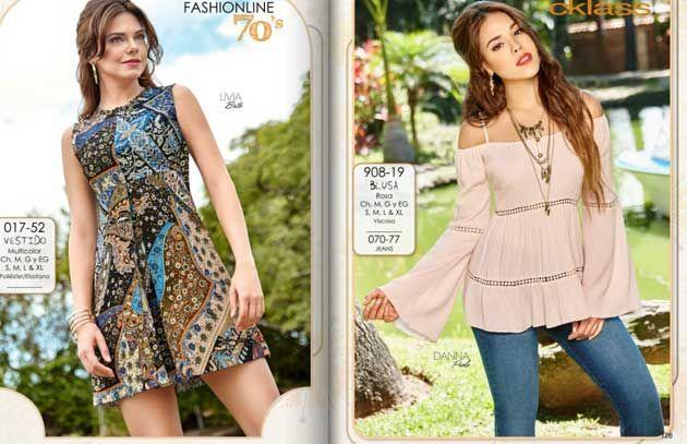 Ropa De Catalogo Buscar Con Google Fashion Fashion Catalogue Peplum Top